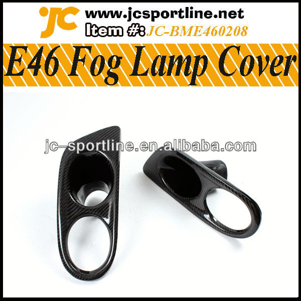 Real Carbon Car Mask M3 E46 Fog Lamp Cover for BMW E46 M3