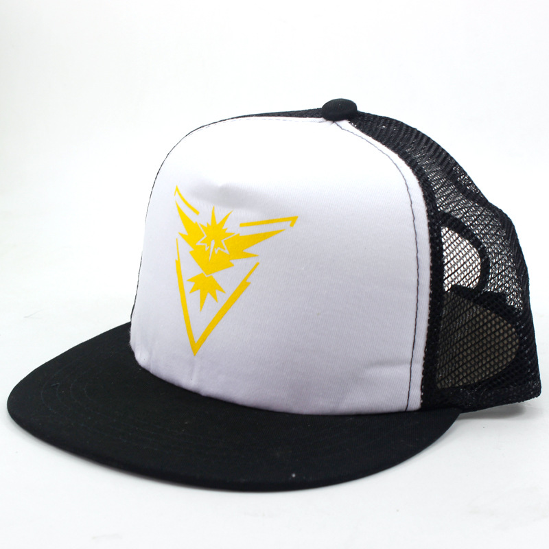 Head breathable golf cap net sport baseball caps with screen printing