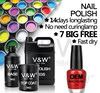 Nail supplies air dry long lasting moisture halal nail polish color private label