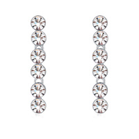 ladies earring designs pictures wholesale fashion jewelry made with Swarovski elements crystal