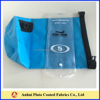 High Quality waterproof backpack made in pvc coated tarpaulin fabric
