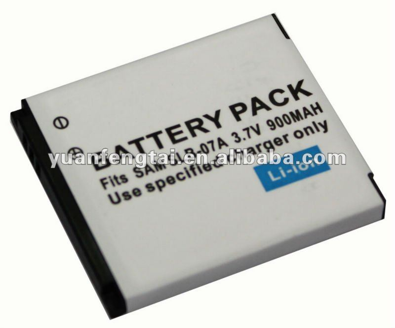 3.7V 900 MAH compatible camcorder battery for SAMSUNG SLB-07A
