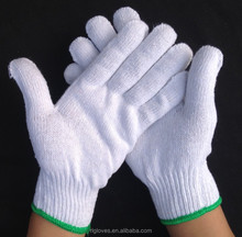 import china wholesale working cotton knitted hand gloves