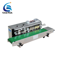 Continuous band sealer machine with coding