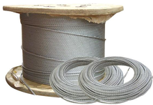 2016 Hot sale!8mm galvanized steel wire rope