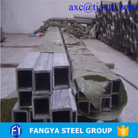 ASTM A500B SHS ! square tube in tian jin square pipe for construction material