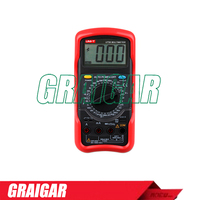 Standard Digital Multimeters UNI-T UT56 DC/AC Voltmeter Ammeter Ohmmeter Tester LCD Backlight Multimetro Ammeter Multitester