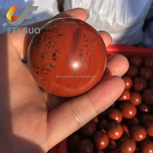 natural red jasper crystal spheres red jade stone balls