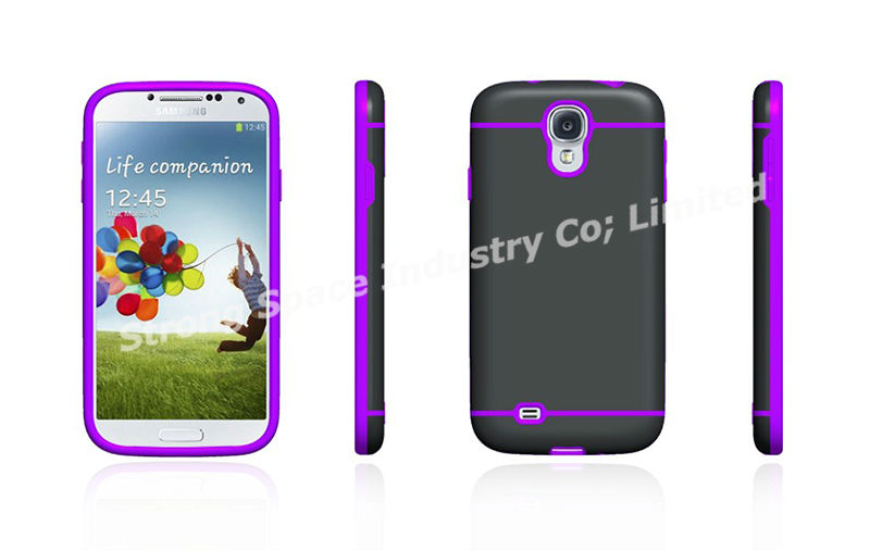 Frost SLIM-Fit Case Flexible TPU+PC Cover for Samsung Galaxy S4 SIV S IV - i9500
