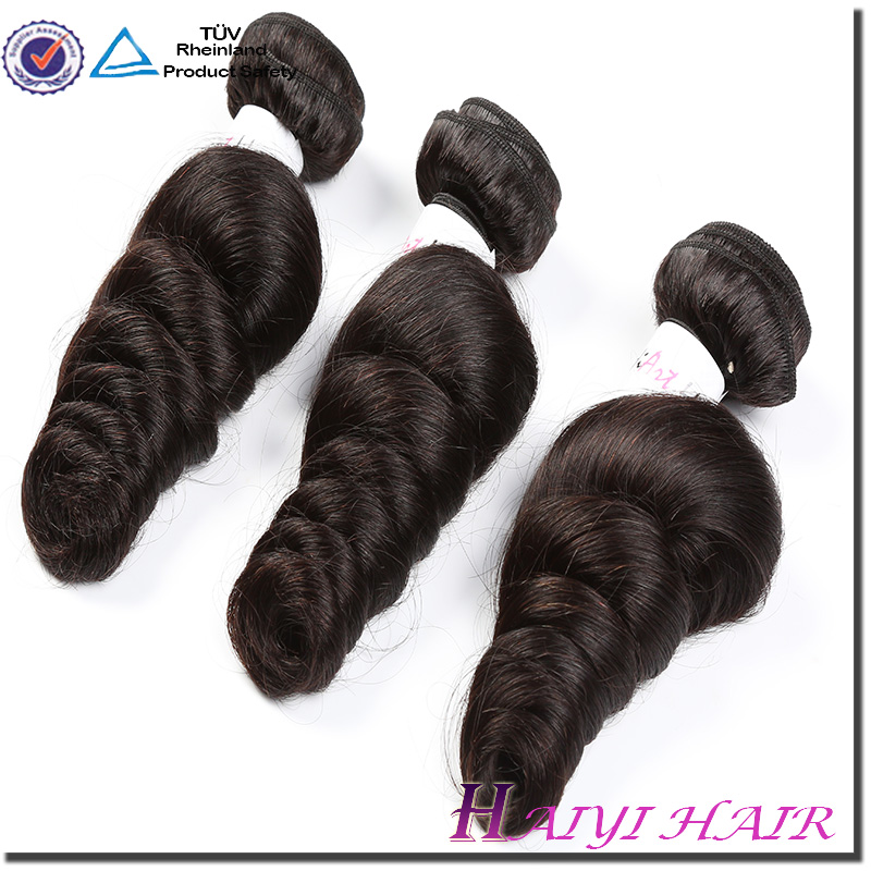 Mink Factory Price Cambodian Unprocessed Remy Hair Bundle Loose wave Virgin Human Hair Weft