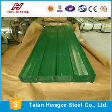 color coated corrugated metal house roofing sheet with dx51d grade