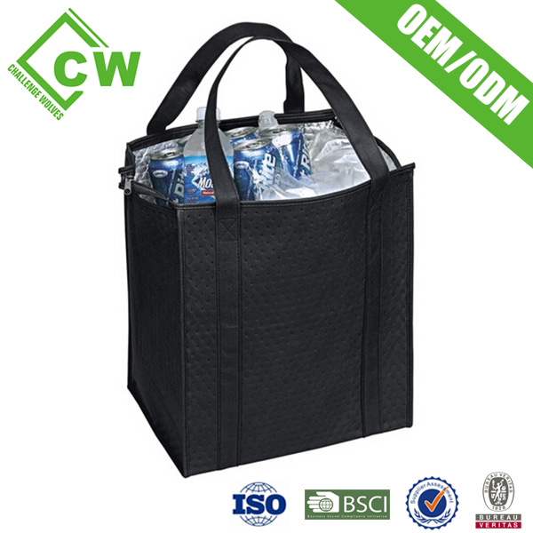 High Capacity Beer Wine Water Bottle Cooler Bag With Custom Logo