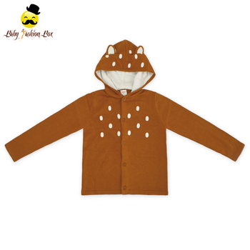 One Piece Long Sleeve Winter Bear Animal Christmas Sweater Baby Boy Designs Knitted Sweater