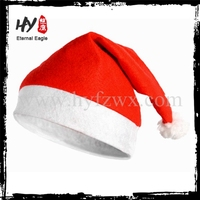 Eco-friendly Santa Clause Small Fluffy soft Red Gift Hat