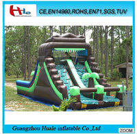 Commercial inflatable slip and slide for adult