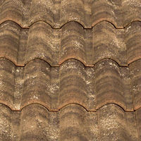 "Spanish, ""Medina"", ""Mixed"", roman ceramic roof tile, made of clay"