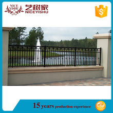 Brand new ornamental iron fence finials with high quality/cheap yard fencing/steel grills fence design