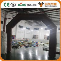 Factory Popular attractive style princess crown inflatable arch for promotion