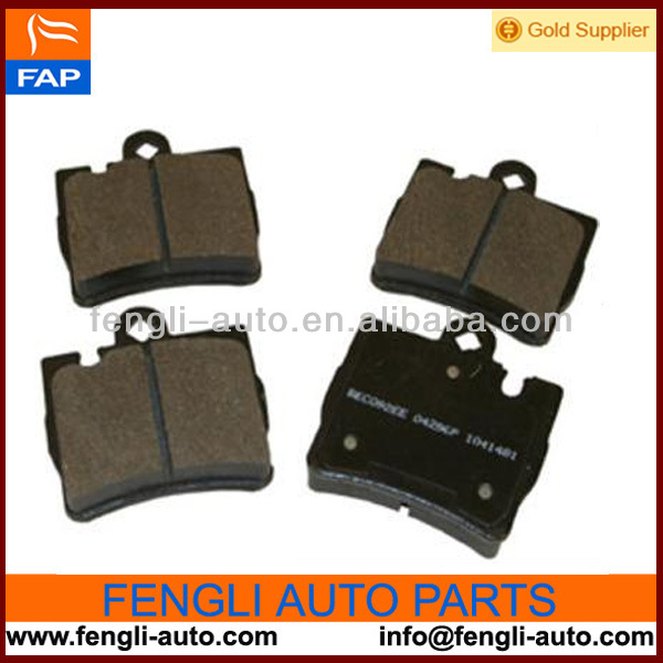 D848 Semi metallic Rear Brake pad for MERCEDES BENZ CL500 03-00