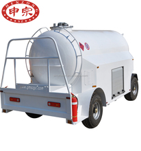 5000 liter aviation kerosene transporter fuel oil tank trailer for sale