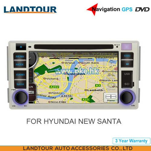 Car multimedia Player Navigation GPS DVD for HYUNDAI SANTA FE 2009-2011 CE FCC ROHS
