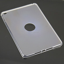 For tablet pad mini 4 0.5mm ultra thin crystal clear TPU tablet case packaging