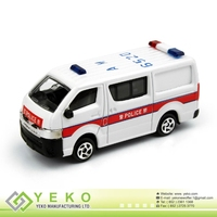 1: 64 Scale Street Scene Die-cast Police Van (Welcome OEM Product)