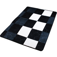 embossing sponge flannel fleece carpet mink blanket