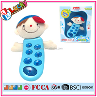 Plastic baby toy mobile battery operate musical phone toys