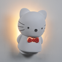 Wall-Light-MG-3135 Modern Simple Style lovely hello kitty Wall Lamp indoor gypaum artled Wall Light