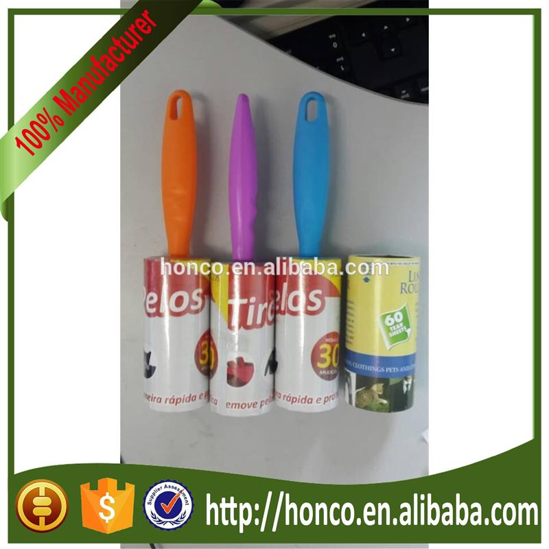 clothes lint roller with adhesive