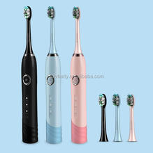 IPX7 waterproof toothbrush portable home/travel electric toothbrush with 3 models rechargeable electric brush