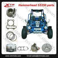 rear axle go kart parts for Hammerhead and Trai Master