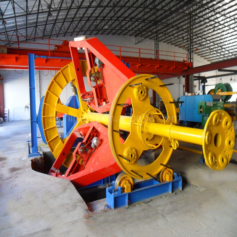 armored cable making equipment for fiber optic cable