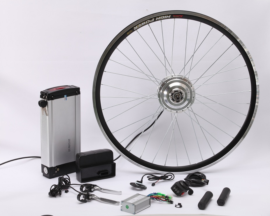 Lithium-ion e bike conversion electric bicycle motor with gear hub motor