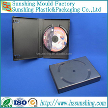 Multiple discs DVD case 27mm stackable dvd cases