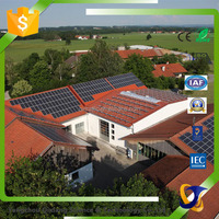 Easy installation solar panel system 10kw home solar power system
