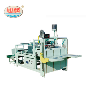 Semi automatic Carton box folder gluer machine/folder gluer for carton making