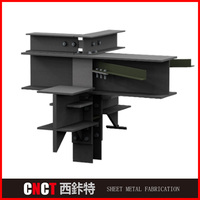 Top quality factory fabrication steel structure construction