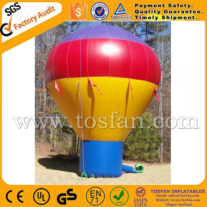inflatable air balloon for exhibition inflatable balloon stand for sale F1042