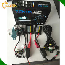 Boorin HID Kit 100% AC DC HID Conversion Kit 35W 55W 75W HID Light Slim Normal Ballast Digital Canbus H4 12V 24v hid xenon kit