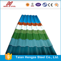 ms sheet best quality Color corrugated metal steel sheet for roofing panel