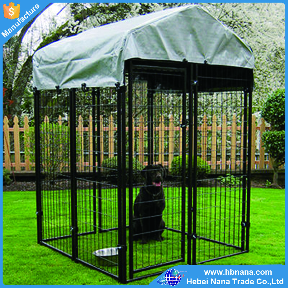 Different color wholesale outdoor custom metal dog kennel