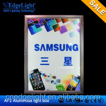 Edgelight AF2A aliexpress led lighting source real estate agent window led display for advertising