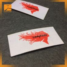 Hot Melt Adhesive Woven Label Wholesale Iron On Fabric Labels