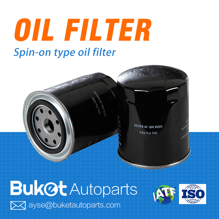 Japanese car oil filter compatible with Toyota Hiace