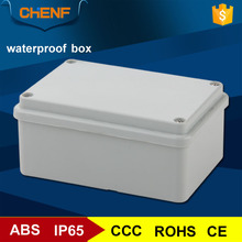 Newest IP65 gray cover abs material plastic waterproof electrical outlet box