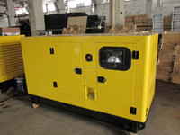 Powered by cummins 6BTAA5.9-G2 100kw 125kva diesel generator set