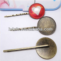 anti brass color 25mm hair accessory