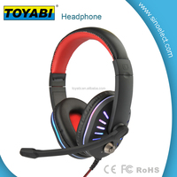 Stereo Headphone Headset 3.5mm with Mic Microphone for Computer PC Laptop Notebook